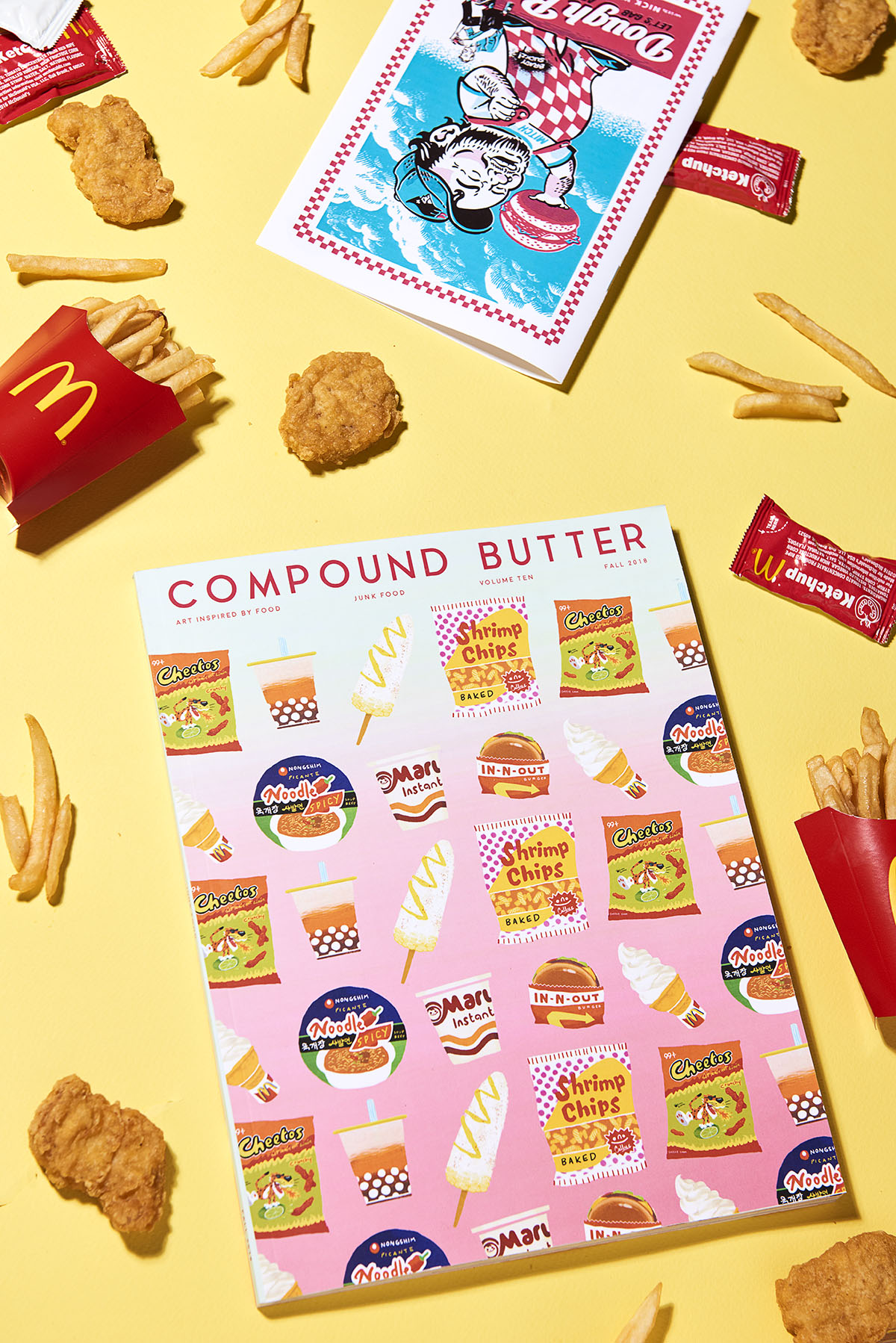 Compund Butter – Junk Food – McDonalds Yellow – web